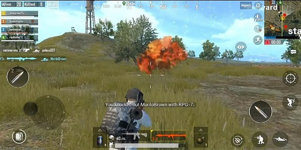 RPG-7 in PUBG Mobile Lite