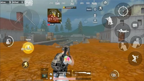 About Golden Woods – A new playfield of PUBG Mobile Lite 0.14.1