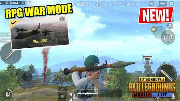 Added Firefight: War Mode to PUBG Mobile Lite 0.14.1